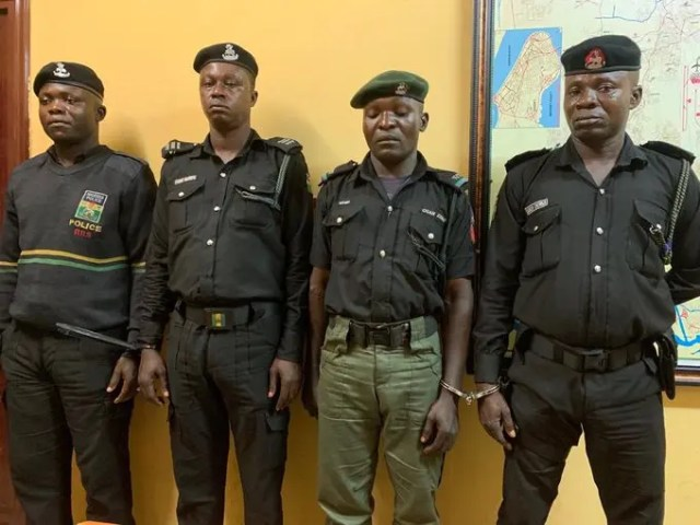 RRS operatives arrested over alleged extortion of N5,000