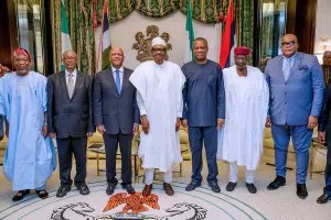 Buhari meets South Africa's Special Envoy