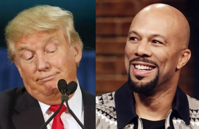 Trump could use therapy says US rapper Common
