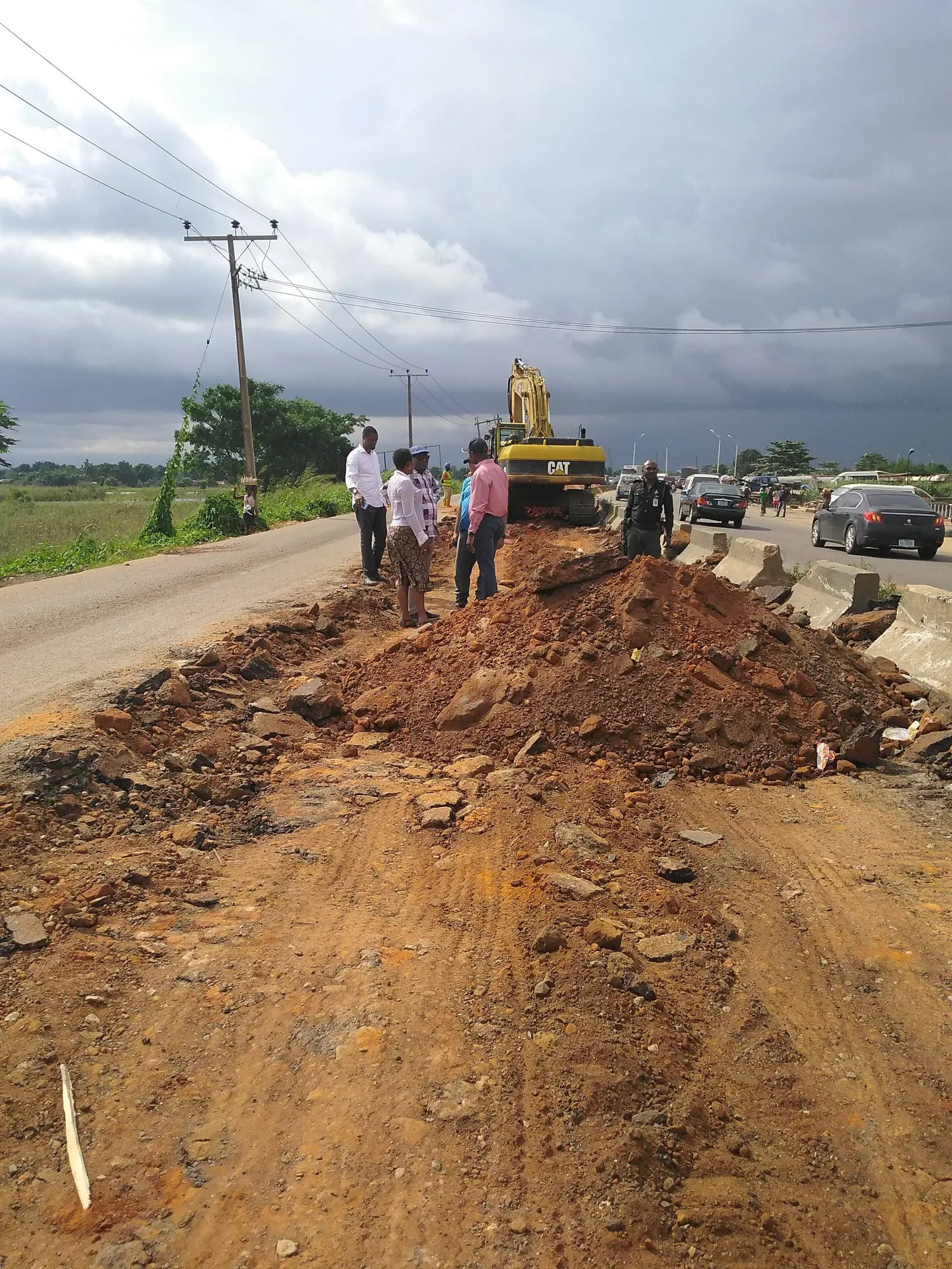 Delta govt. begins rehabilitation of failed Asaba-Onitsha portion of Benin-Onitsha Expressway - Vanguard