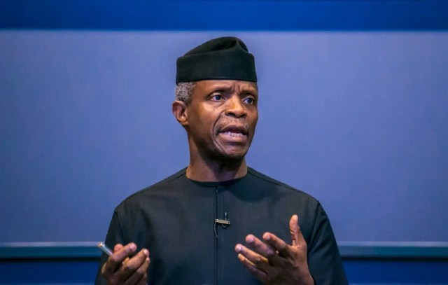 Osinbajo, Nigeria, economic