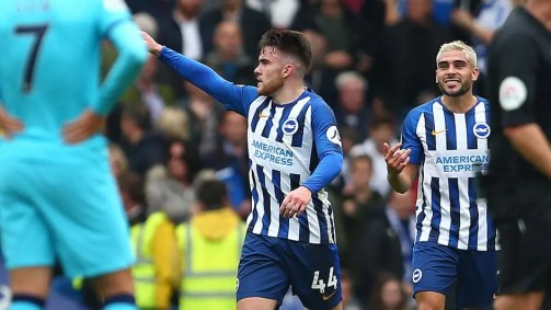 Premier League: Brighton dispatch Spurs 3-0