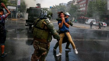 11 people died in Chile violent protests over ticket price hike