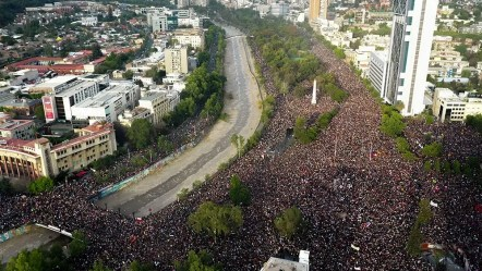 Chile Protests: More than 1 million join in call for change of govt