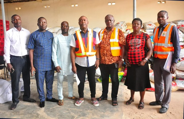 Edo govt distributes relief materials to flood victims in 5 LGAs