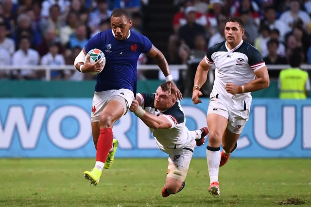 Rugby World Cup: 'We struggled' admits France coach after USA win