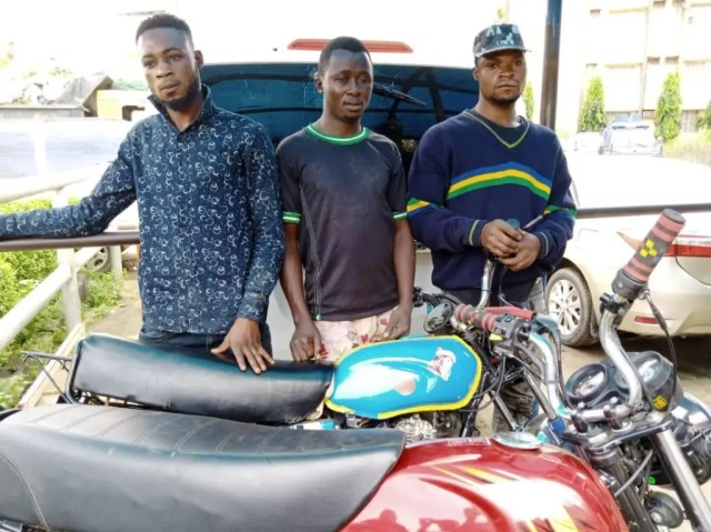 Police, Suspect, Okada, Armed robbery