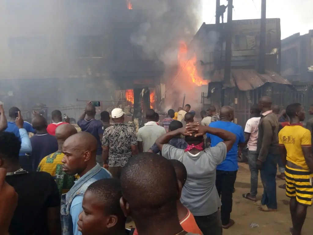 Fire Disaster: Gov. Obiano Commiserates With Victims