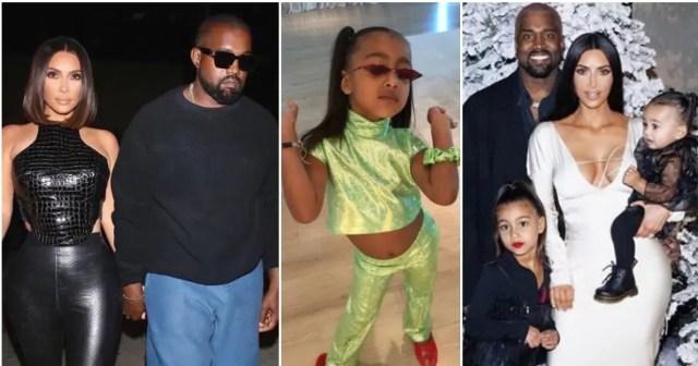 Kanye West, North
