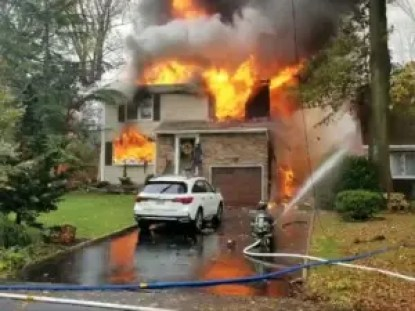 Plane crashes into American house, 'luckily no one was home'