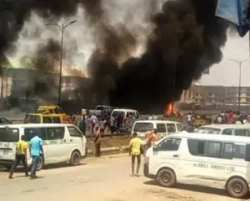 Tanker Fire: Onitsha traders blame poorly equipped fire service for losses