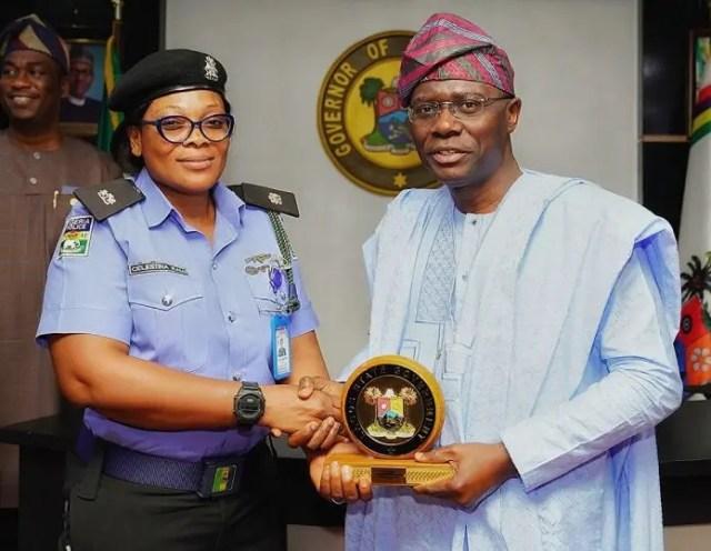 Sanwo-Olu honours hero DPO who saved robbery victim