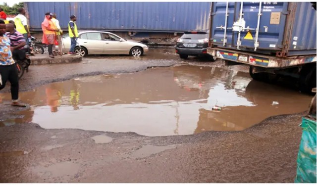 Flood takes-over Lagos community school, pupils trapped for hours