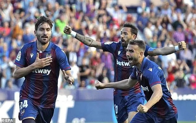 La Liga: Levante stun Barcelona 3-1 in memorable victory