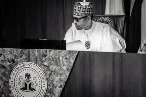 Pres. Buhari Presides over a virtual FEC 0009 TAA01961
