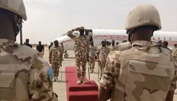 Service chiefs, Buhari's visit to Maiduguri