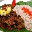 Ofada rice, unripe plantain, Oha soup, other African food that aid weight loss