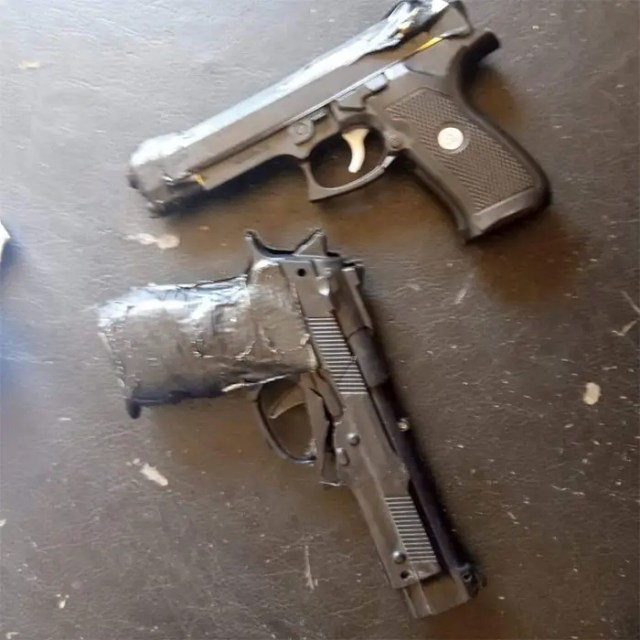 Police recover toy pistols from NGO training shooters at Maiduguri hotel