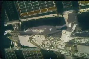 nasa spacewalk 446
