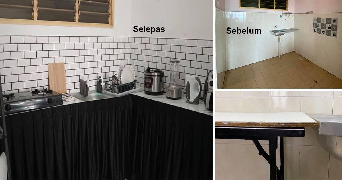 Dapur Kecil Susun Atur Dapur Tanpa Kabinet