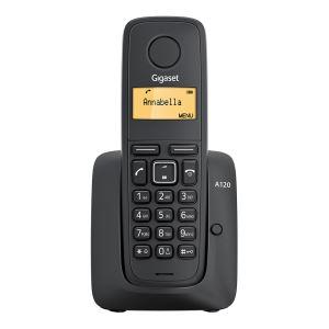 A120 Dect Telefon Siyah Vatan Bilgisayar