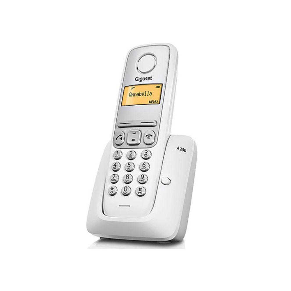 A230 Dect Telefon Beyaz Vatan Bilgisayar