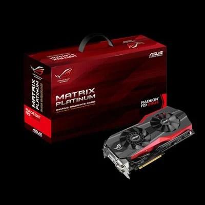Asus R9 290X ROG MATRIX GDDR5 4GB 512Bit AMD Radeon DX112 Ekran Kart Vatan Bilgisayar