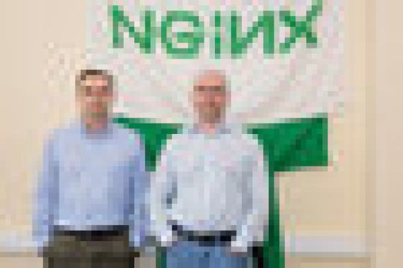 Igor Sysoev (left) and Maxim Konovalov created a company for eight years whose product uses more than 375 million sites