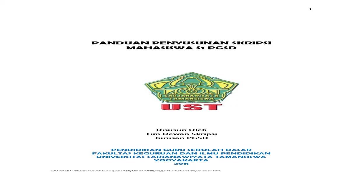 18 Skripsi Jurusan Pgsd Download
