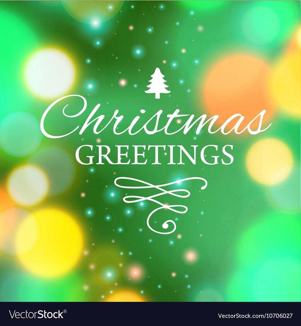 Ecard Template. merry christmas ecard template vector illustration ...