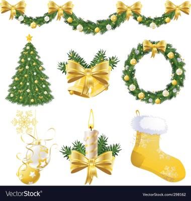 Calligraphic Christmas Decorations