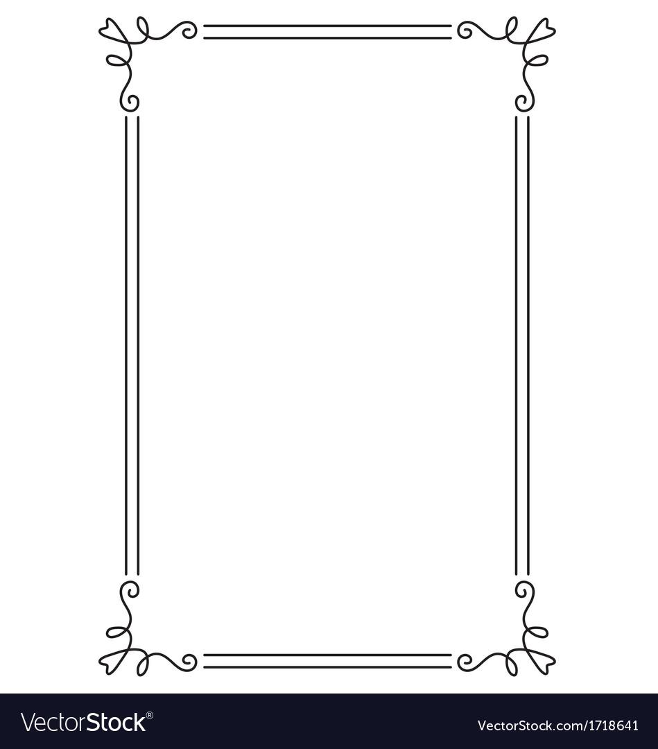decorative border templates decorative border vector by rheyes