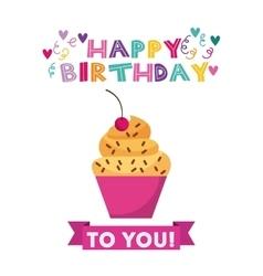 Lego Frame Icon Happy Birthday Design Royalty Free Vector