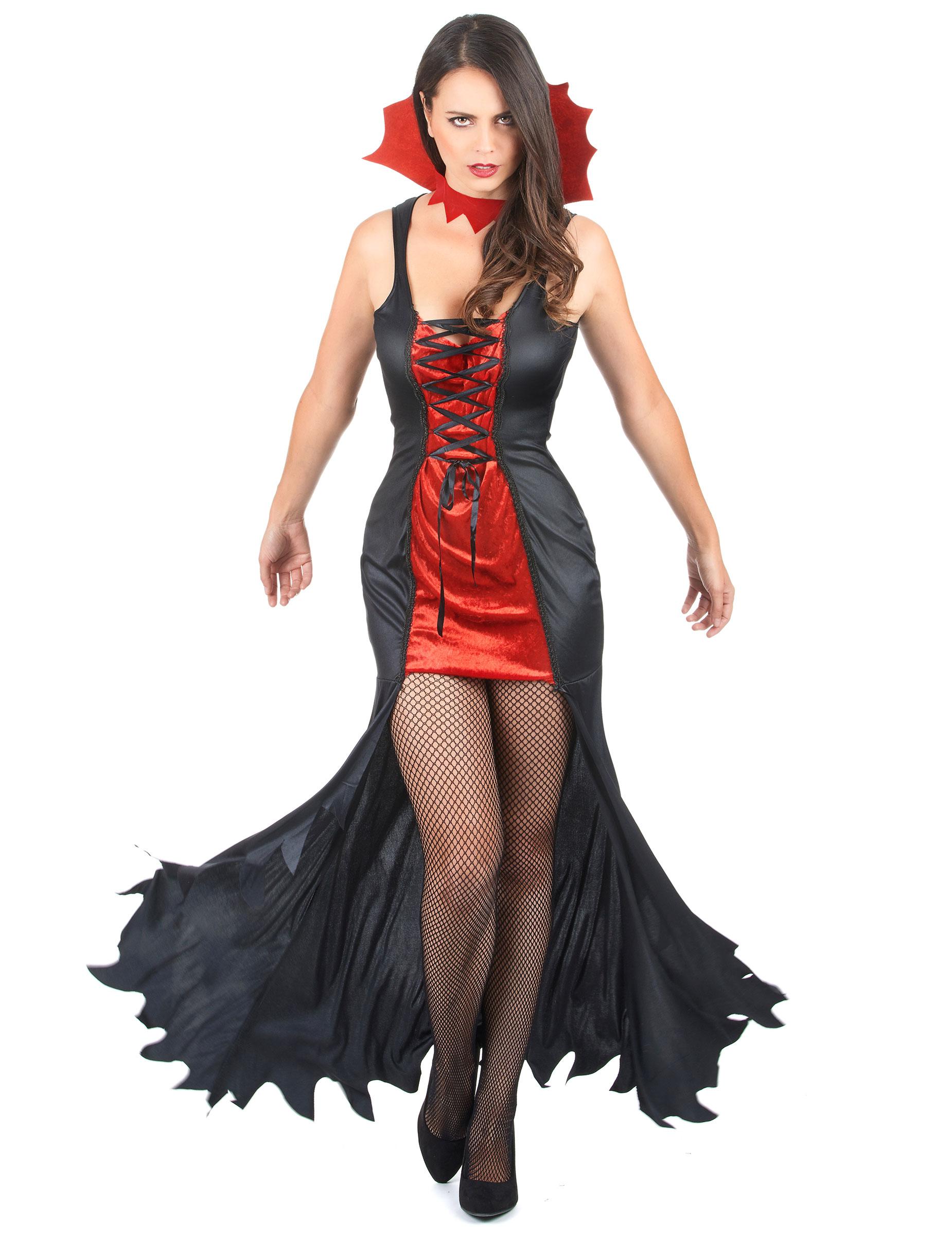 Vampir Kostm Damen Halloween Kostme Fr Erwachseneund