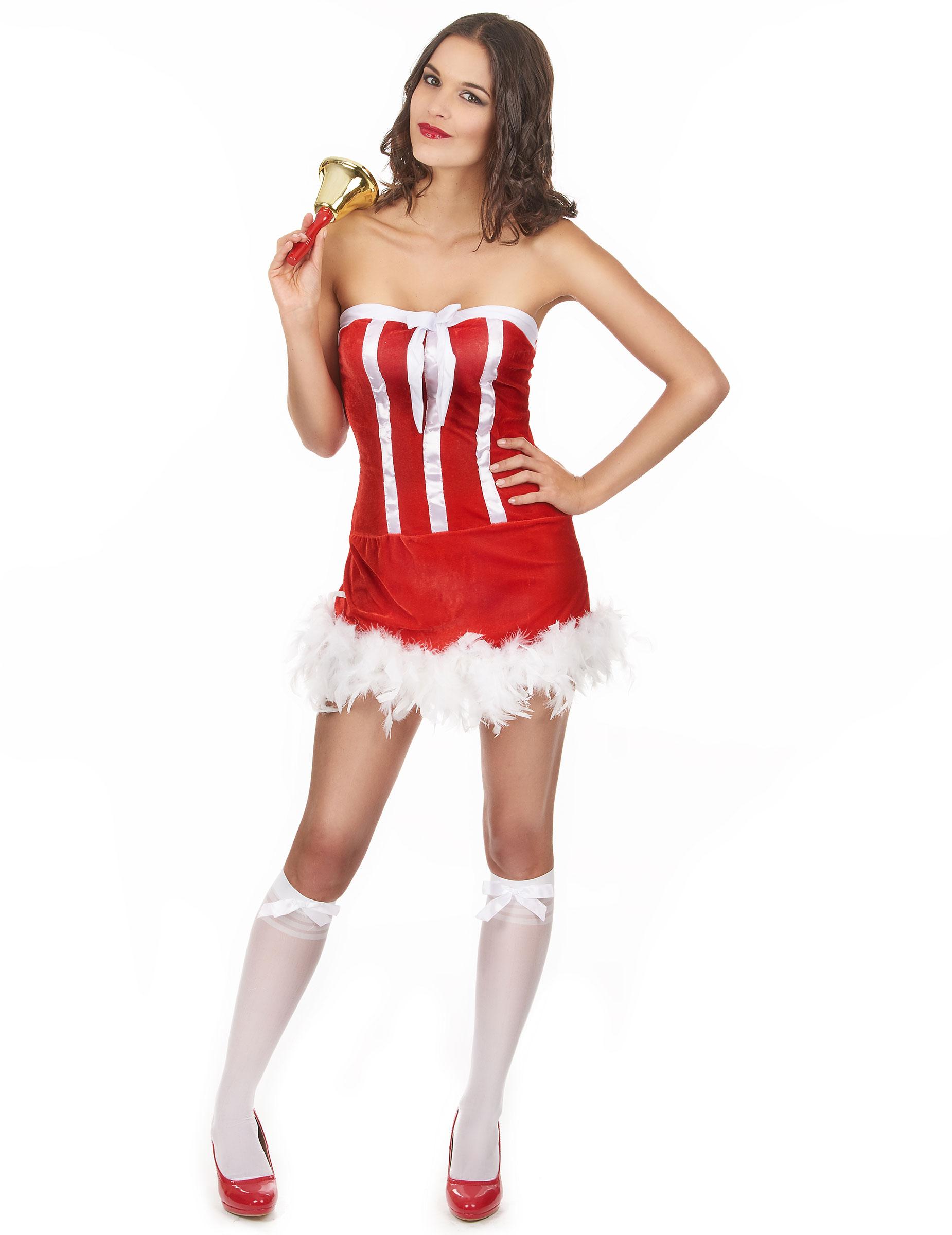 Heies Weihnachtsfrau Kostm Fr Damen Kostme Fr