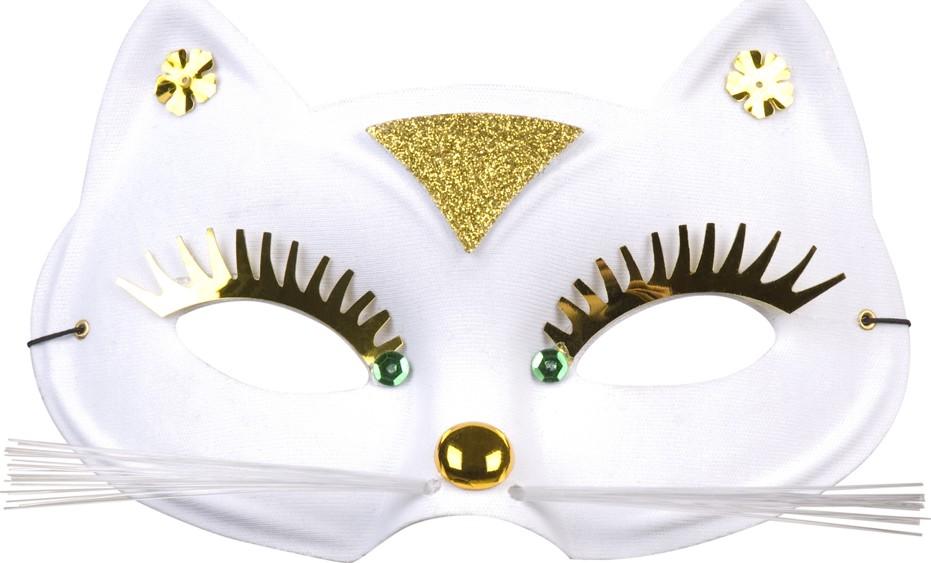 Antifaz De Gato Para Adulto Mscarasy Disfraces