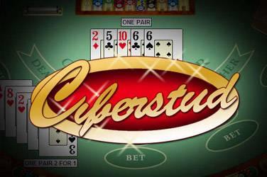 Cyberstud poker cover