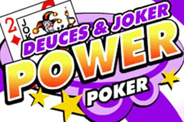 Deuces and joker 4 play power poker cover