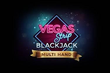 Multi hand vegas strip blackjack