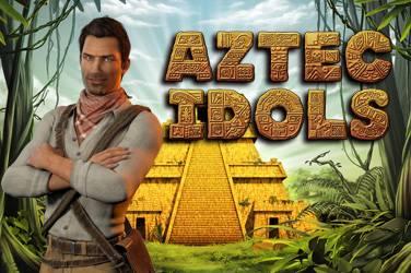 Aztec idols cover