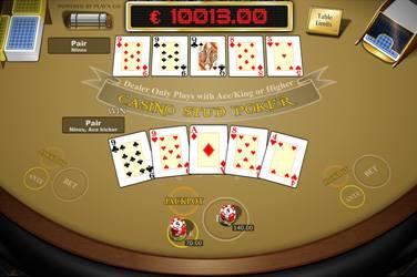 Casino stud poker