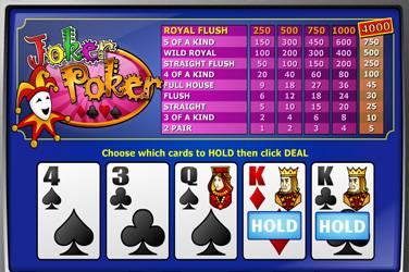 Joker poker mh