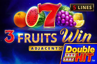 3 Fruits Win: Double Hit by Playson
