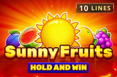 Super Sunny Fruits: Hold and Win