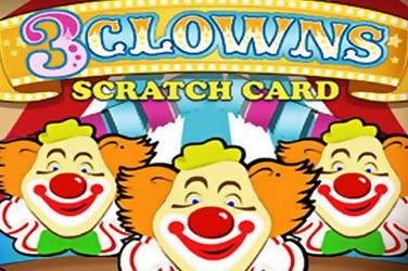 3 clowns scratch