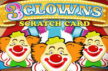 3 clowns scratch cover