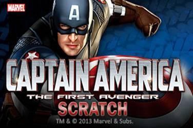 Captain america scratch