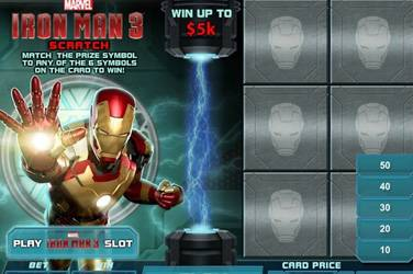Iron man 3 scratch