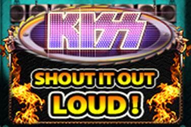 Kiss shout it out loud