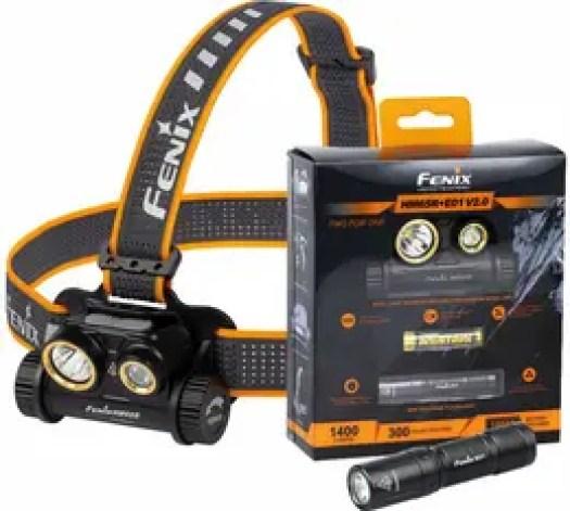 Fenix HM65R + E01 -valosetti